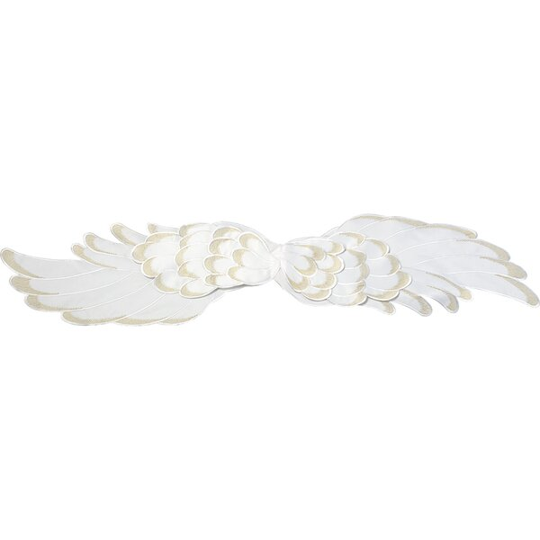 Angel Wings Polyester Table Runner by Precious Moments