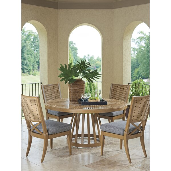 Los Altos Valley View 5 Piece Dining Set with Cushions