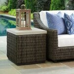Cypress Point Ocean Terrace Square End Table by Tommy Bahama Outdoor