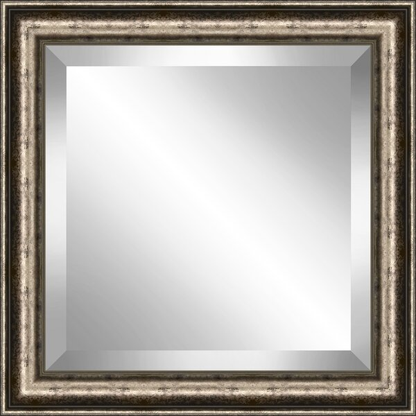 2.5 Frame Traditional Speckled Beveled Plate Accent Mirror by Red Barrel Studio