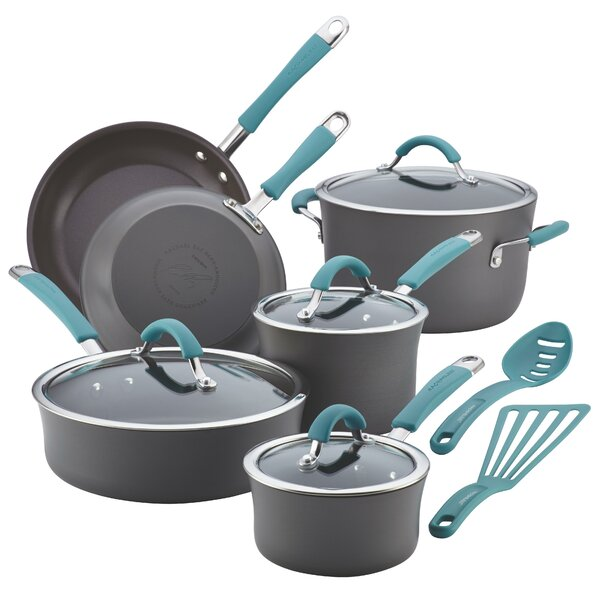 Cucina 12 Piece Non-Stick Cookware Set by Rachael Ray