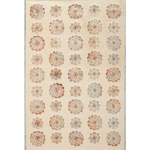 Martha Stewart Spruce / Cream Area Rug by Martha Stewart Rugs