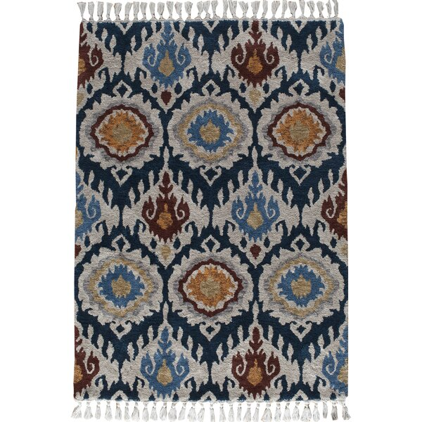 Kabbani Indigo Blue Area Rug by Loon Peak