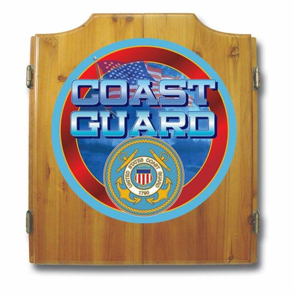 US Coast Guard Dart Cabinet Set by Trademark Global