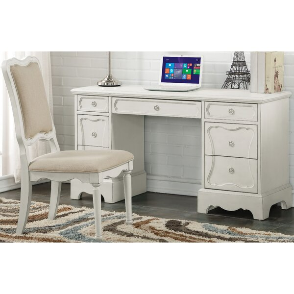 ConCourse Writing Desk and Chair Set by Harriet Bee