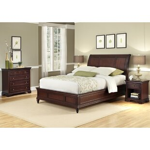 Curran Panel 3 Piece Bedroom Set By Three Posts