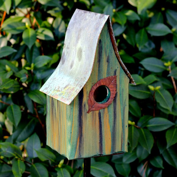 Shady Shed 12 in x 6 in x 6 in Birdhouse by Heartwood