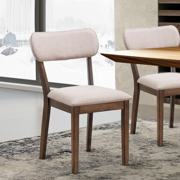 Eberhardt Upholstered Dining Chair (Set of 2) by George Oliver