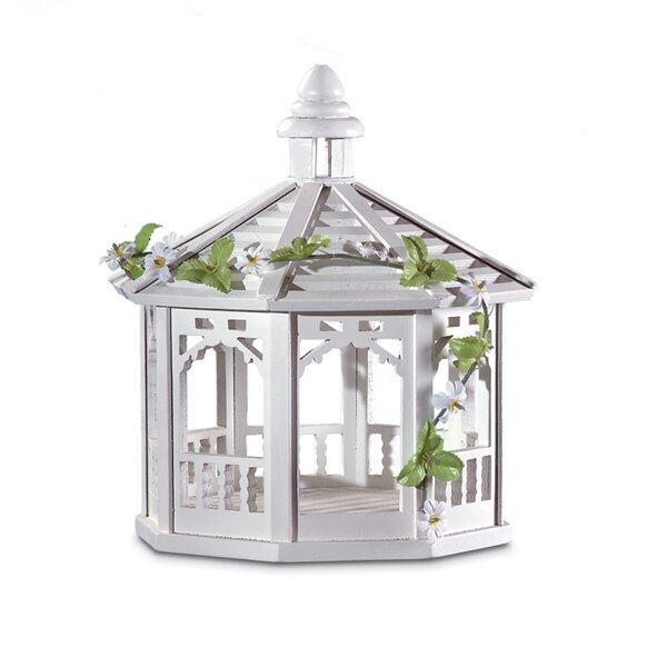 Sweet Pavilion Decorative Tray Bird Feeder by Zing