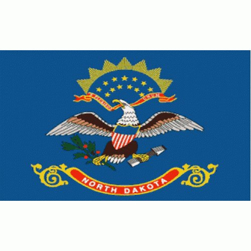 North Dakota Traditional Flag by NeoPlex