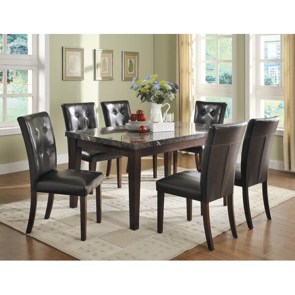 Blackwater 7 Piece Counter Height Dining Set by Red Barrel Studio