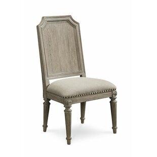 Carolin Light Oak Side Chair (Set of 2)