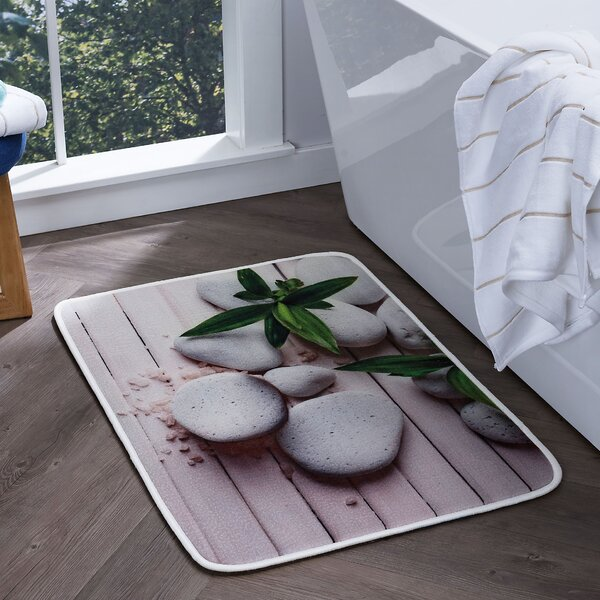 Piantedosi Spa Foam Core Comfort Bath Rug by Bloomsbury Market