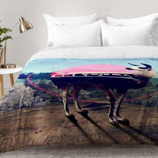 Llama Van Comforter Set