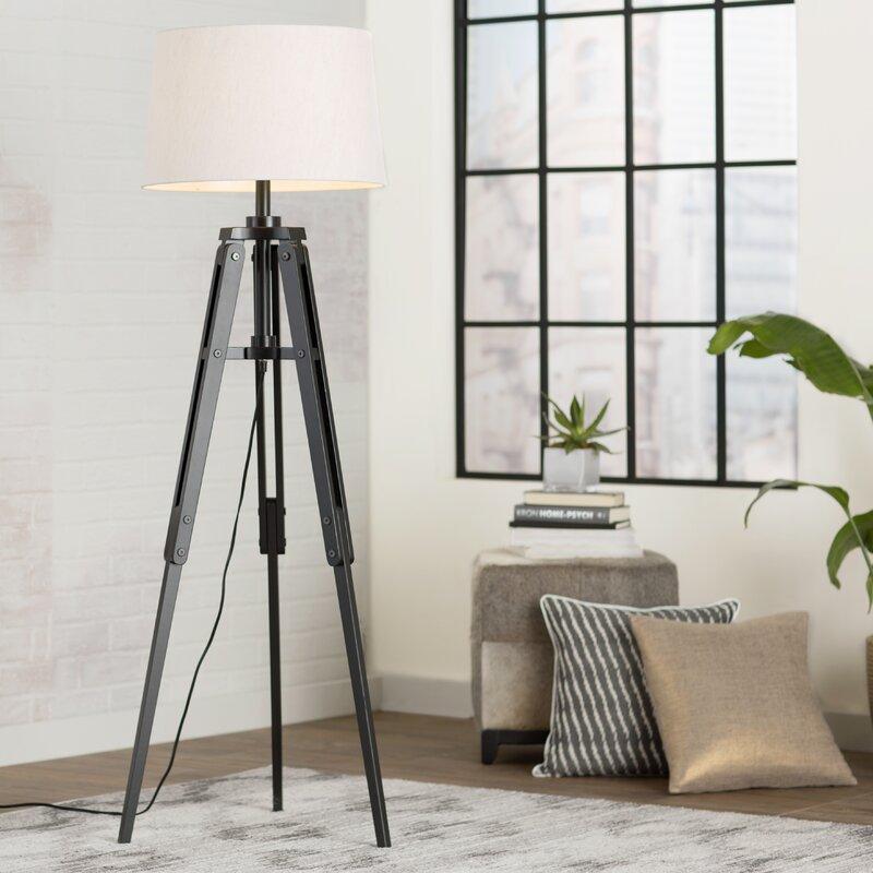 Alencon 62 Tripod Floor Lamp