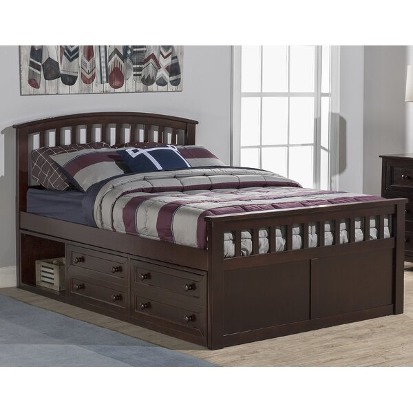 Javin Mate's & Captain's Bed with Drawer by Harriet Bee Harriet Bee