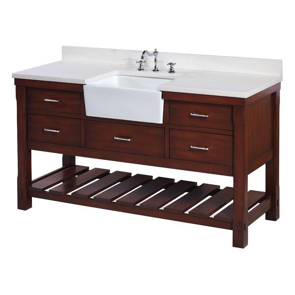 Charlotte 60 Single Bathroom Vanity Set by Kitchen Bath Collection