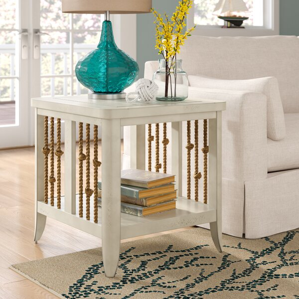 Chaz End Table by Beachcrest Home