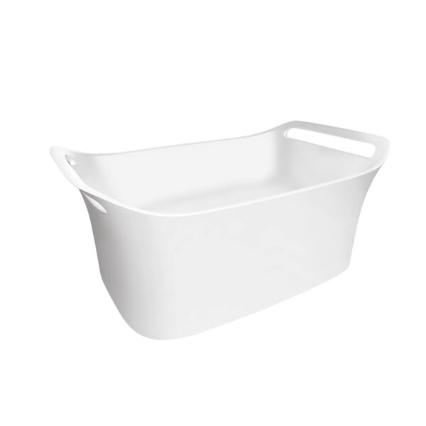 Axor Urquiola Rectangular Vessel Bathroom Sink by Axor