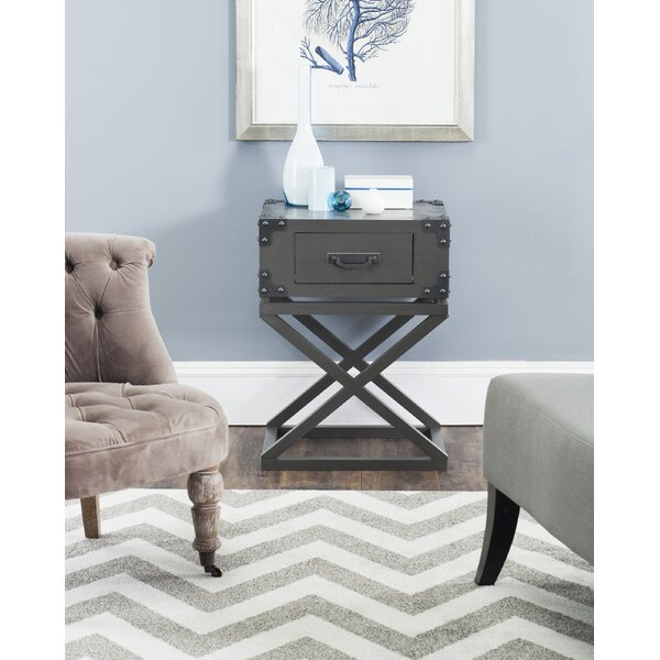 Agoura Hills Dunstan End Table by Trent Austin Design