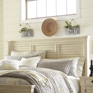 Alsace Panel Wood Headboard by Lark Manor