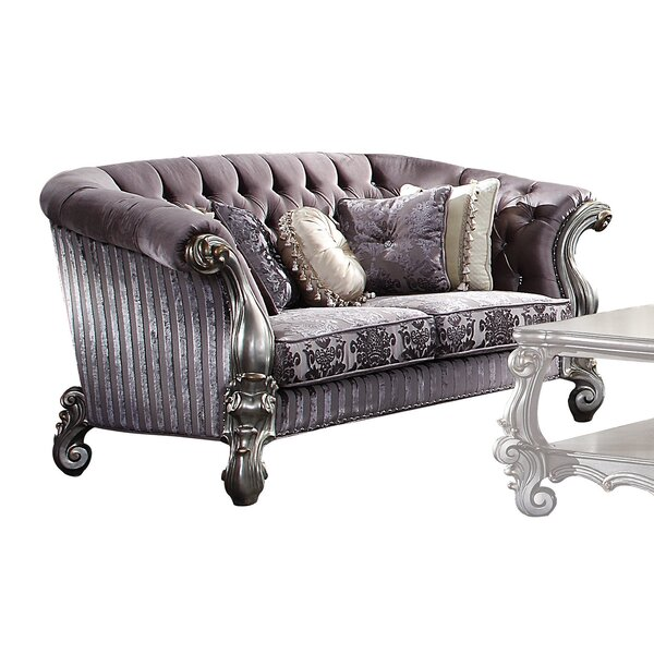 Holiman Chesterfield Loveseat By Astoria Grand