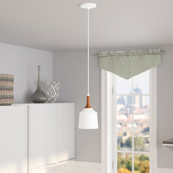 Evelyn 1-Light Drum Pendant by Langley Street