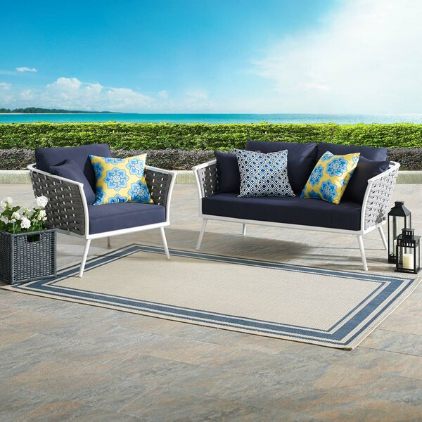 Rossville 2 Piece Sofa Seating Group with Cushions by Ivy Bronx