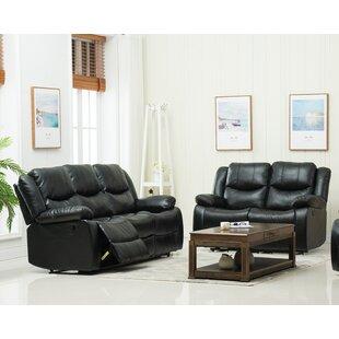 Jayesh 2 Piece Reclining Living Room Set by Red Barrel Studio®