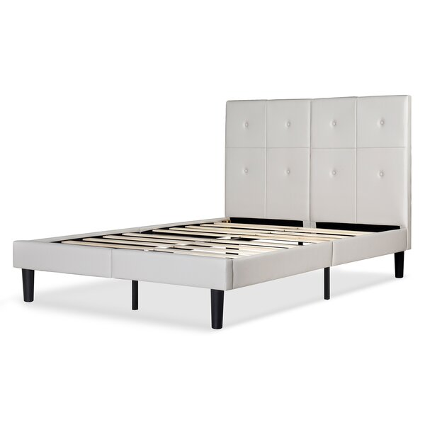 Izzie Dura Metal Platform Bed Frame by Latitude Run