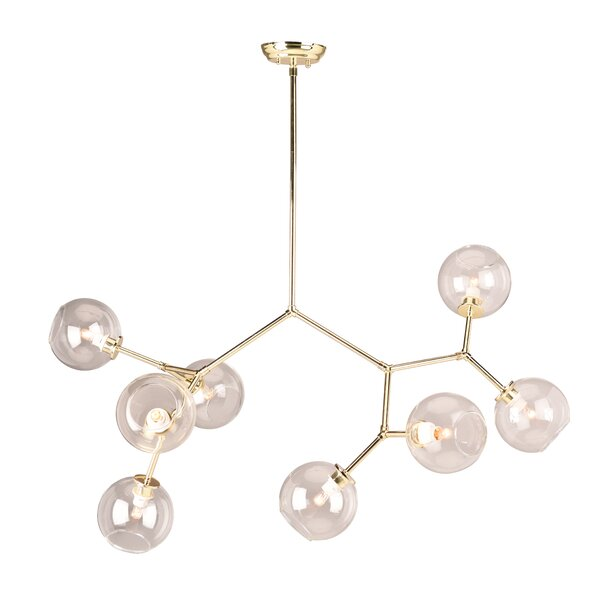 Larry 8-Light Sputnik Chandelier by Langley Street