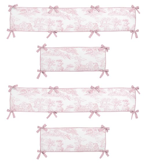 French Toile Crib Bumper by Sweet Jojo Designs