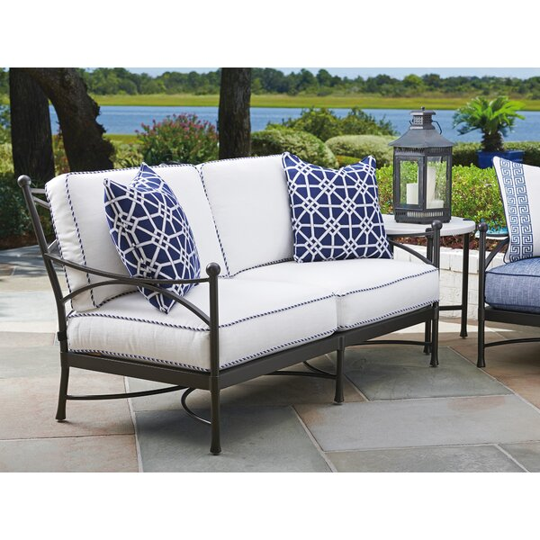 Pavlova Loveseat with Sunbrella Cushions by Tommy Bahama Outdoor