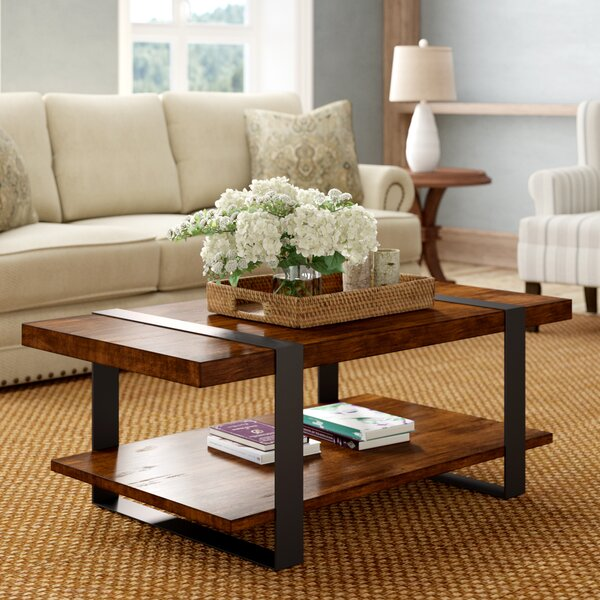 Talmadge Coffee Table by Millwood Pines Millwood Pines