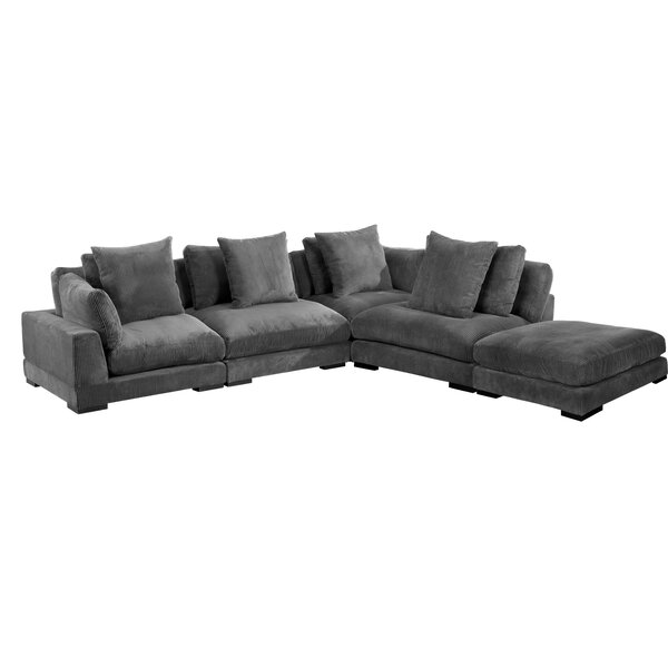 Lytle Dream Symmetrical Modular Sectional With Ottoman By Red Barrel Studio