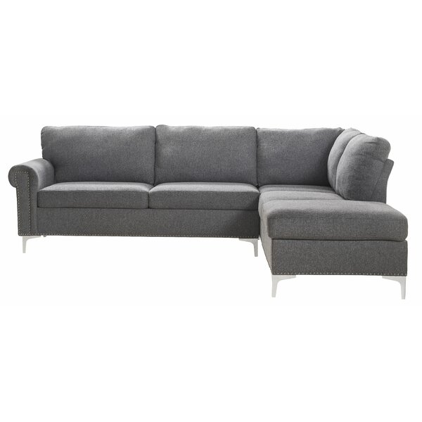 Godwin Contemporary Right Hand Facing Sectional by Red Barrel Studio