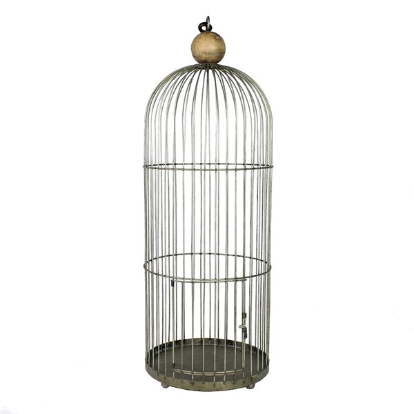 Ann Metal Bird Cage by Tucker Murphy Pet