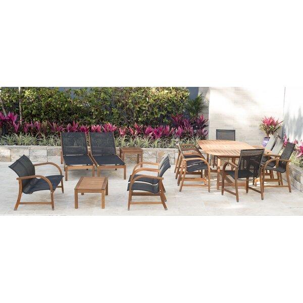 Nettleton 16 Piece Complete Patio Set by Beachcrest Home Beachcrest Home