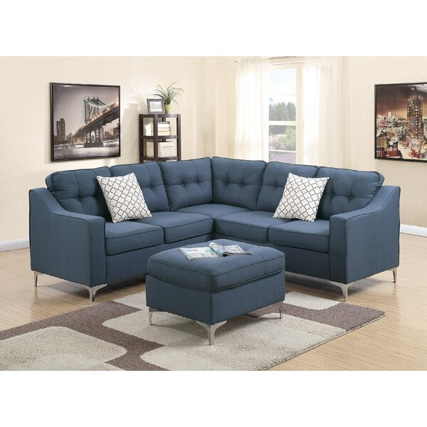 Bacher 4 Piece Living Room Set by Ivy Bronx