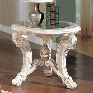 Alaskan End Table by Astoria Grand