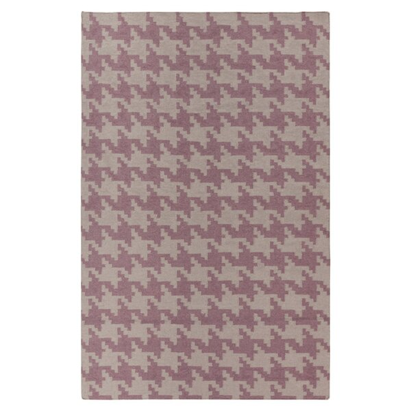 Atkins Elephant Gray/Twilight Mauve Area Rug by Charlton Home