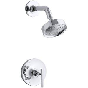 purist ritetemp shower faucet trim with lever handle valve not