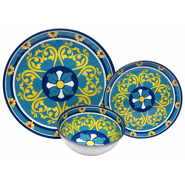 Markiewicz Melamine 12 Piece Dinnerware Set by Bloomsbury Market