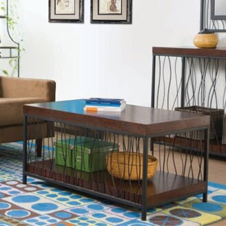 Wire Design Coffee Table By Wildon Home®