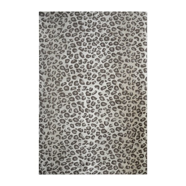 Kacie Hand-Tufted Wool Beige Area Rug by Rosdorf Park