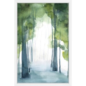 'Grove' by Christine Lindstrom Framed Painting Print by Marmont Hill