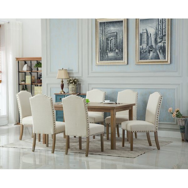 Natalya Urban Dining Table by Bungalow Rose