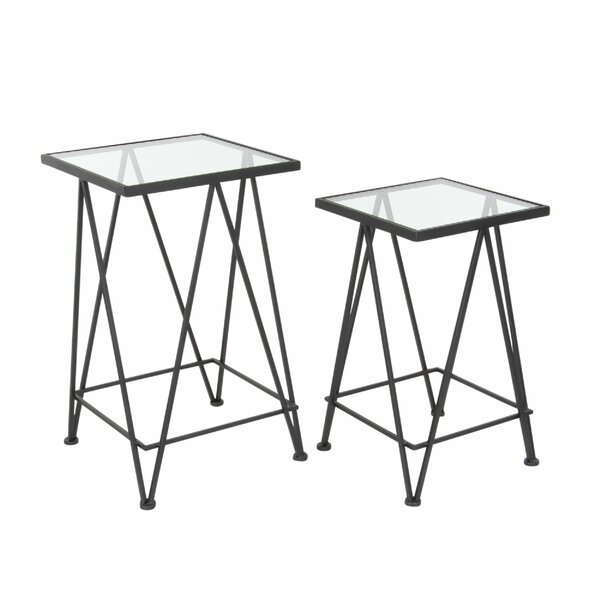 ShipstStour Metal End Table by Mercer41