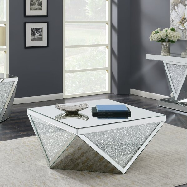 Lippa Solid Coffee Table With Storage By Rosdorf Park