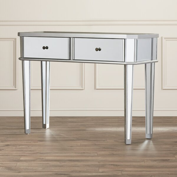 Alrai Mirrored Console Table by Willa Arlo Interiors